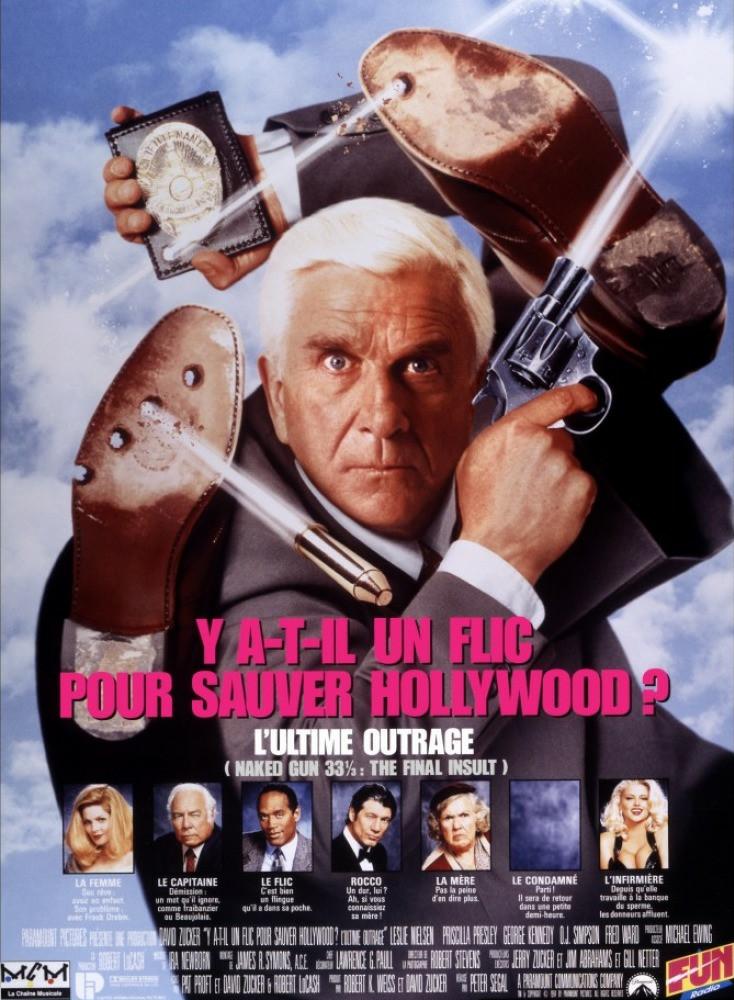 affiche du film Y a-t-il un flic pour sauver Hollywood ?