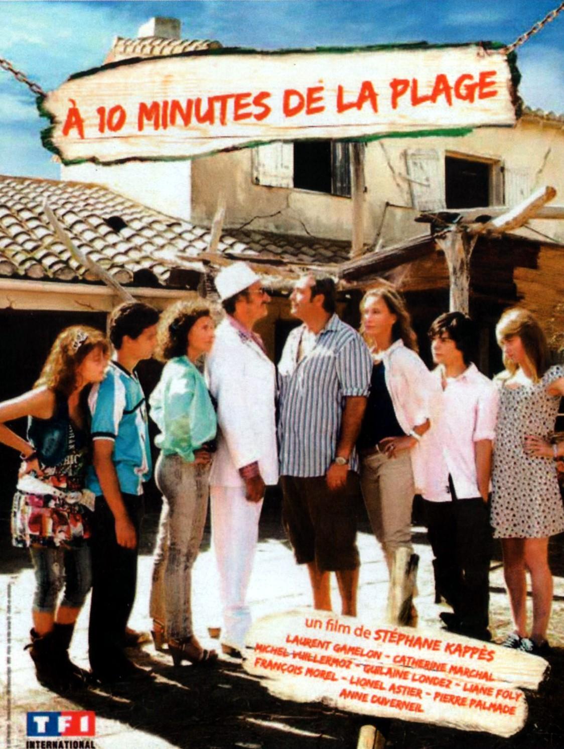 affiche du film À 10 minutes de la plage (TV)