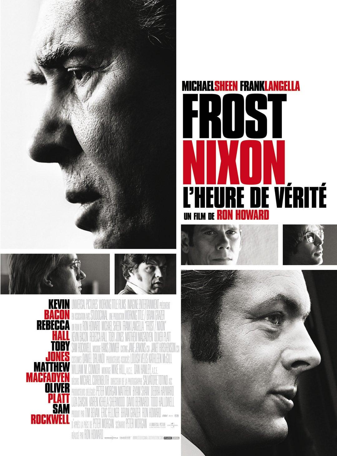 affiche du film Frost/Nixon, l'heure de vérité