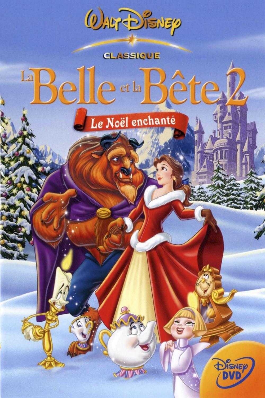 affiche du film La Belle et la Bête 2:Le Noël enchanté