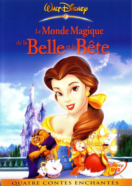 affiche du film Le Monde magique de la Belle et la Bête