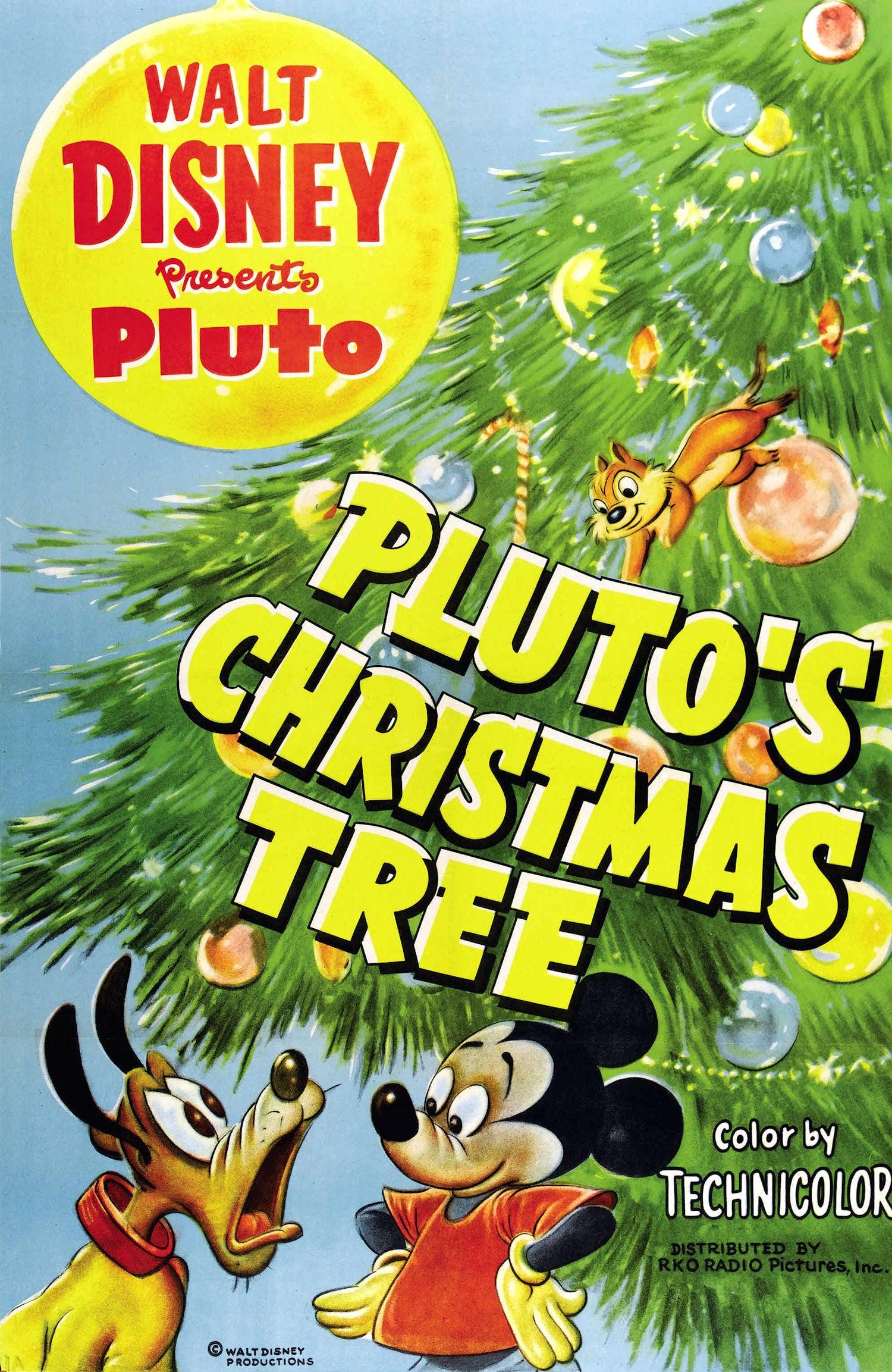 affiche du film L'arbre de Noël de Pluto