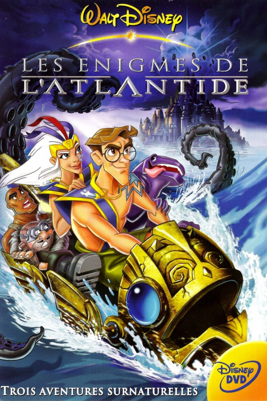 affiche du film Les énigmes de l'Atlantide