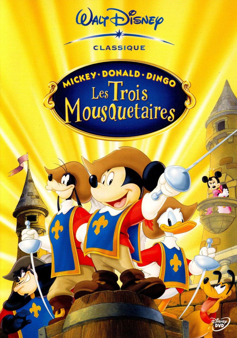 affiche du film Mickey, Donald, Dingo : Les Trois Mousquetaires