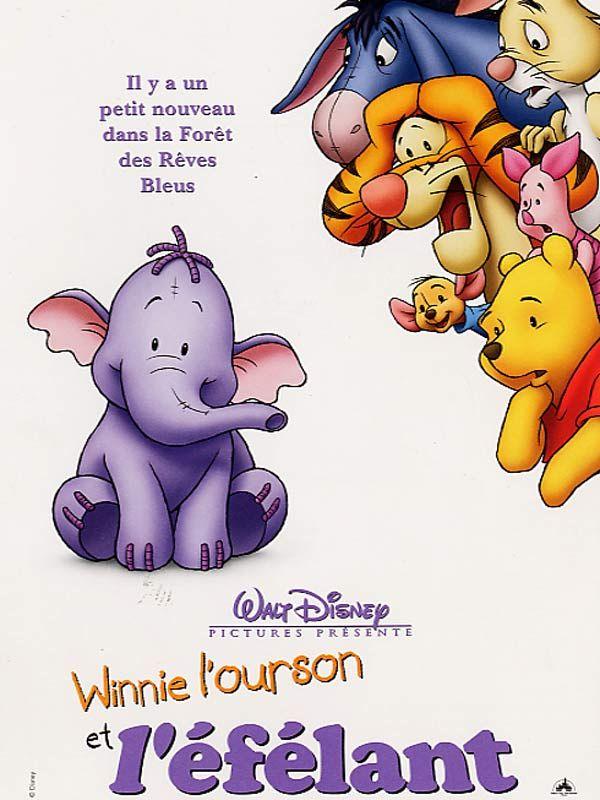 affiche du film Winnie l'ourson et l'éfélant