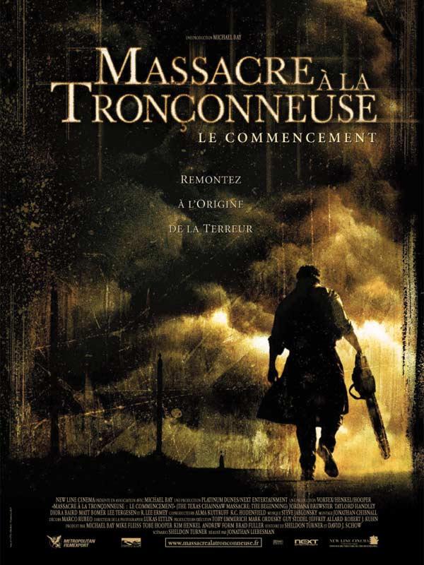 affiche du film Massacre à la tronçonneuse : Le Commencement