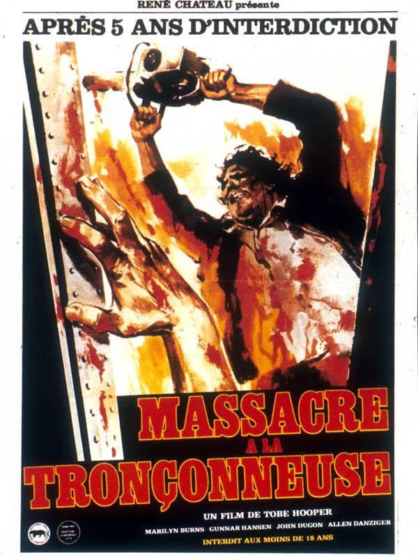 affiche du film Massacre à la tronçonneuse (1974)