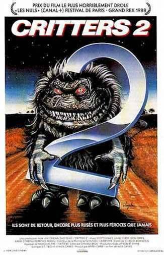 affiche du film Critters 2