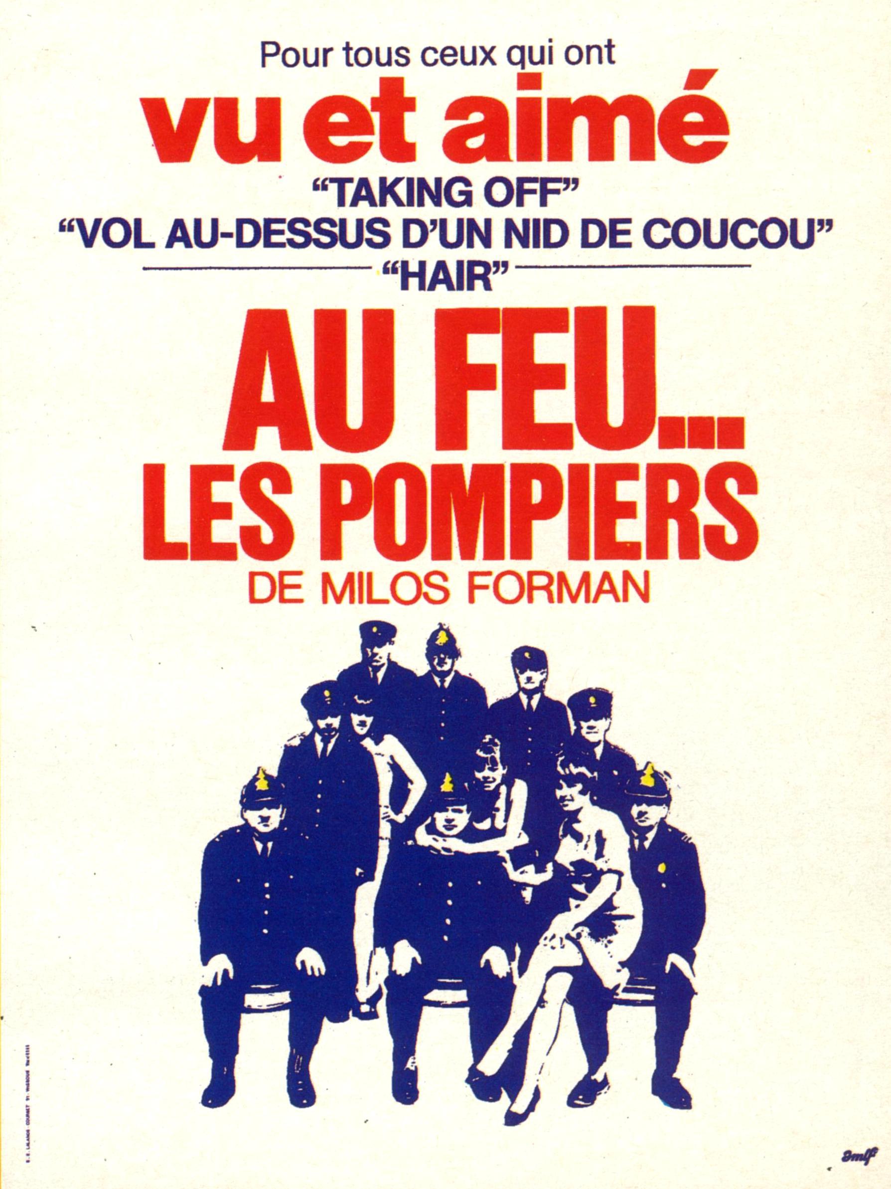 affiche du film Au feu les pompiers !