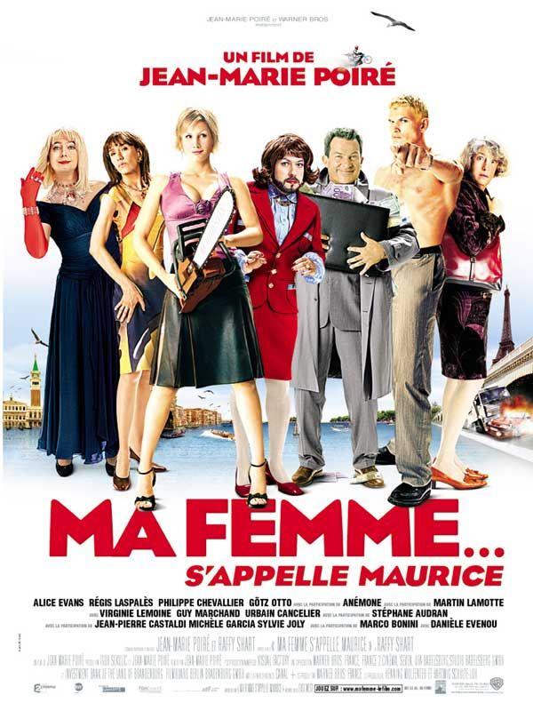 affiche du film Ma femme... s'appelle Maurice