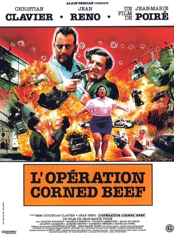 affiche du film L'opération Corned Beef