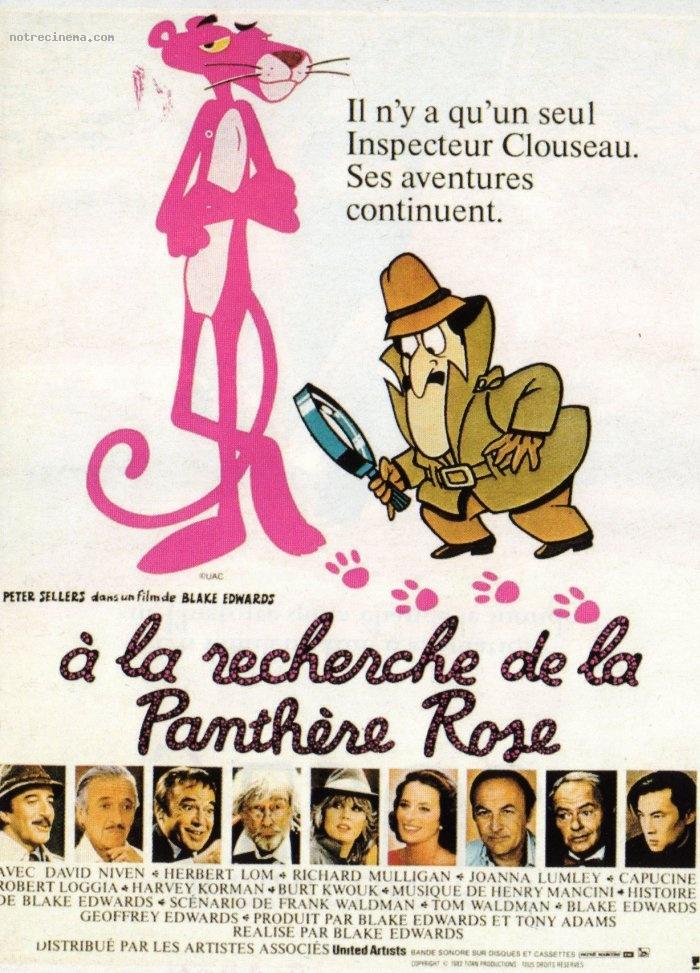 affiche du film À la recherche de la panthère rose
