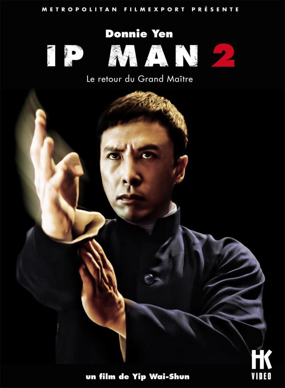 affiche du film Ip Man 2, le retour du grand maître