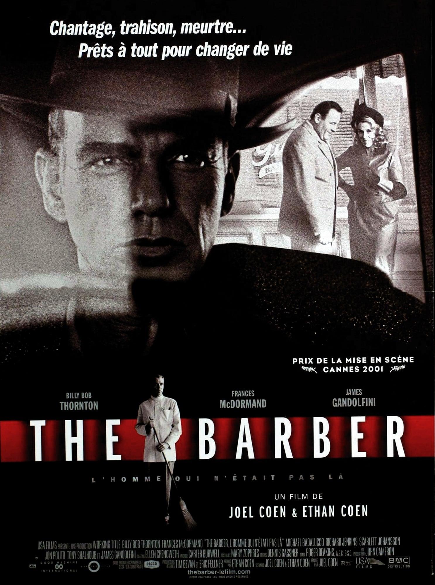 affiche du film The barber: l'homme qui n'était pas là