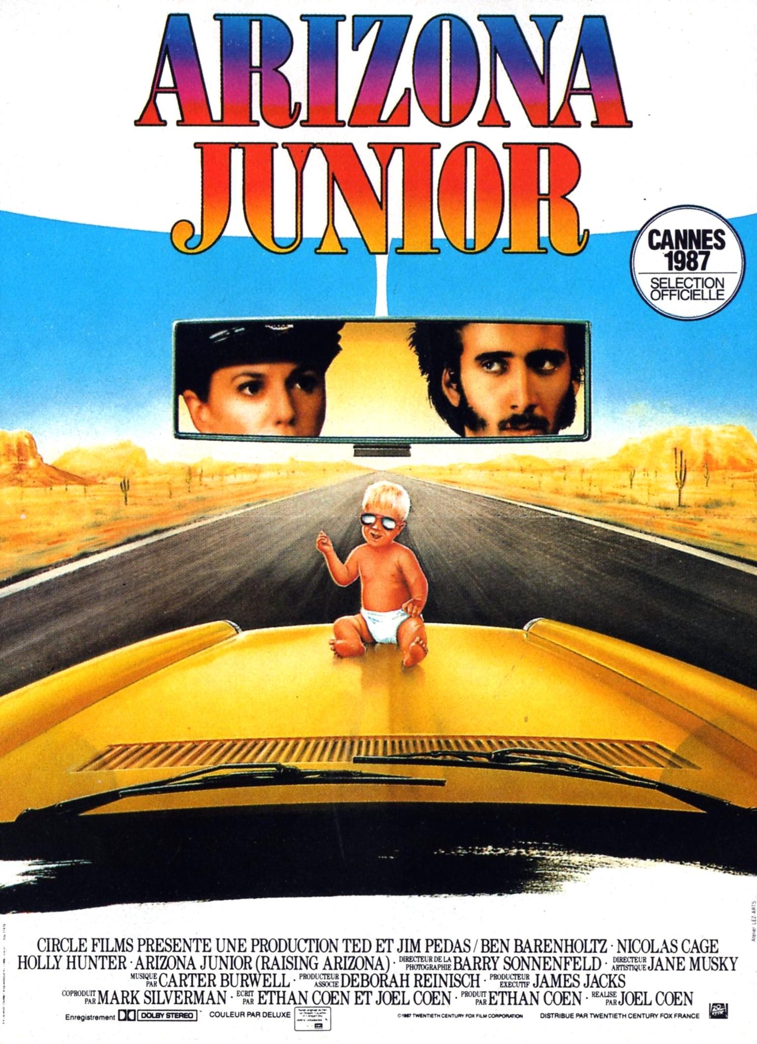 affiche du film Arizona Junior