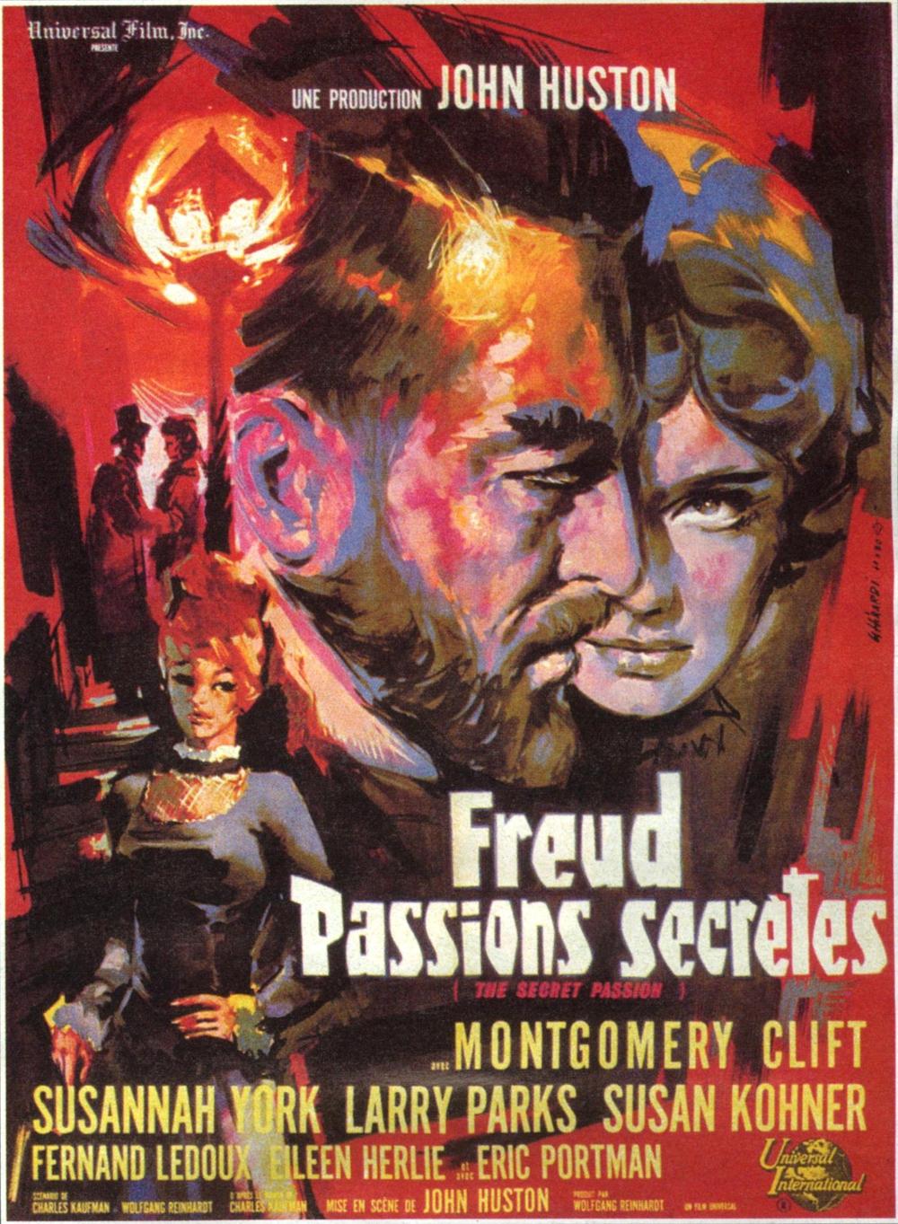 affiche du film Freud, passions secrètes