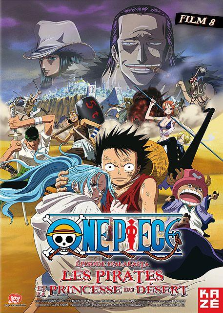 affiche du film One Piece - Film 8: Épisode d'Alabasta - Les Pirates et la princesse du désert
