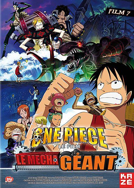 affiche du film One Piece - Film 7: Le Mecha géant du château Karakuri