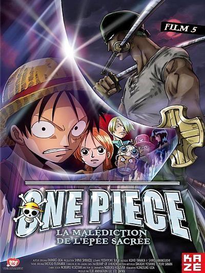 affiche du film One Piece - Film 5: La Malédiction de l'Épée Sacrée