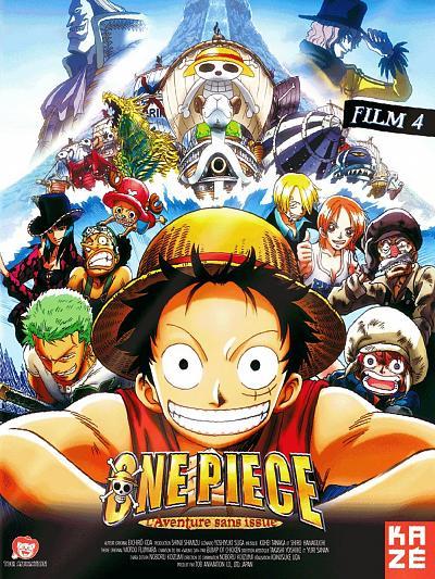affiche du film One Piece - Film 4: L'Aventure sans Issue