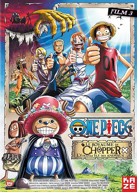 affiche du film One Piece - Film 3: Le Royaume de Chopper, l'Étrange Île des Animaux