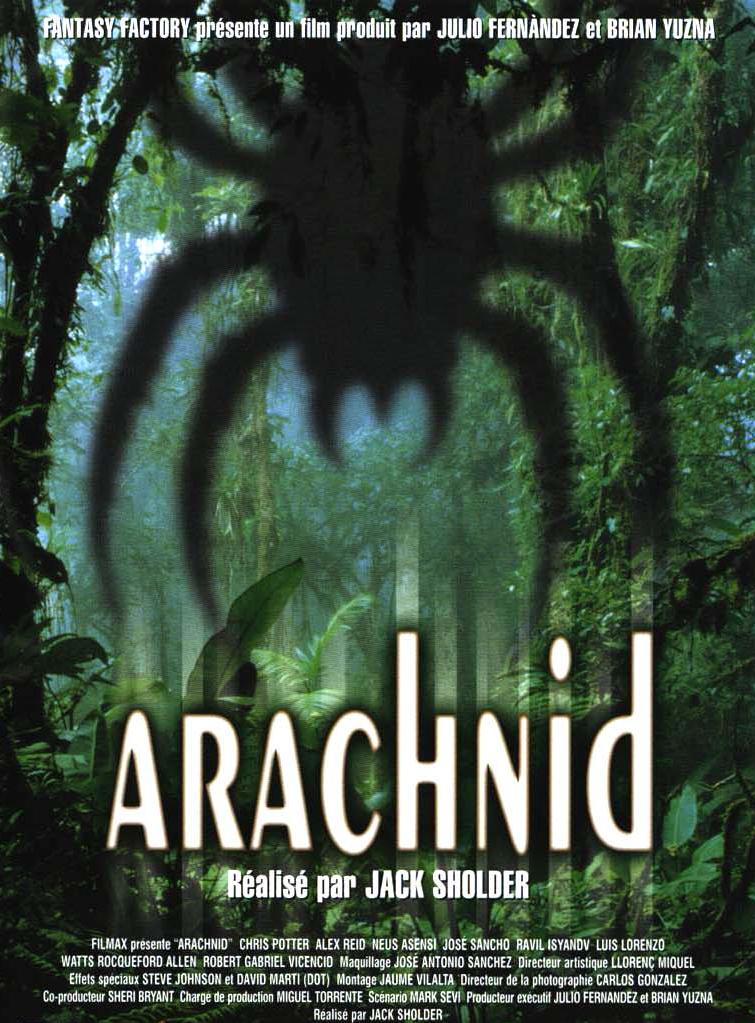 affiche du film Arachnid