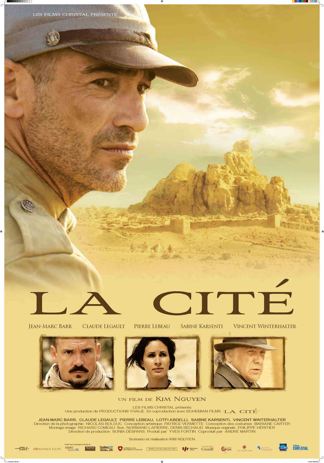 affiche du film La cité