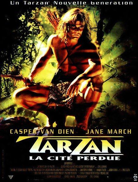 affiche du film Tarzan et la cité perdue