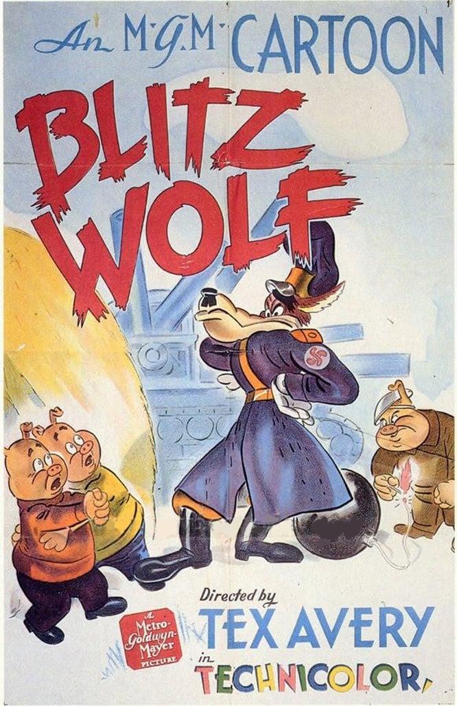 affiche du film Der Gross méchant loup