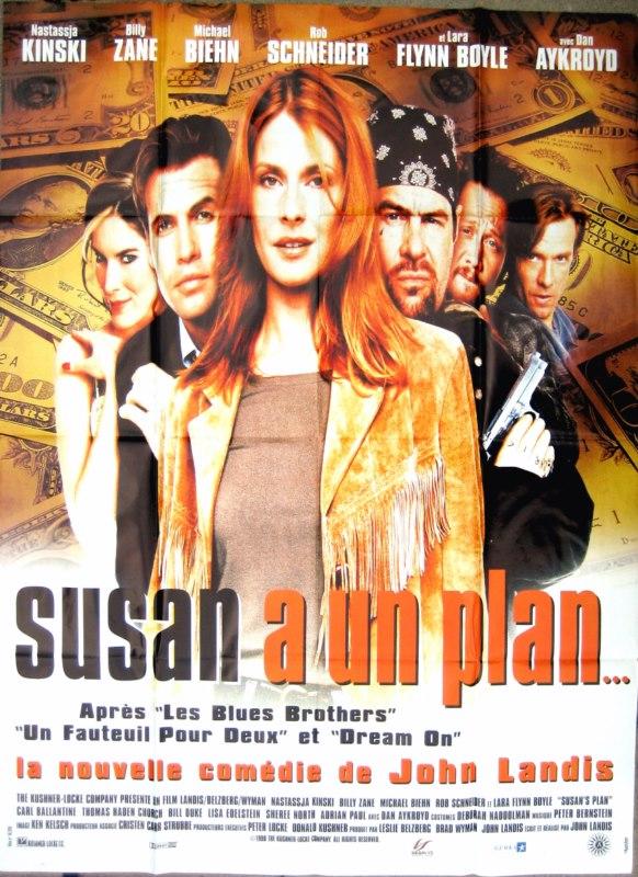 affiche du film Susan a un plan