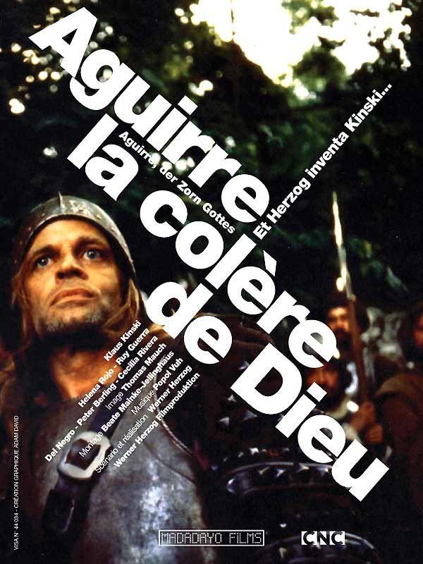 affiche du film Aguirre, la colère de Dieu