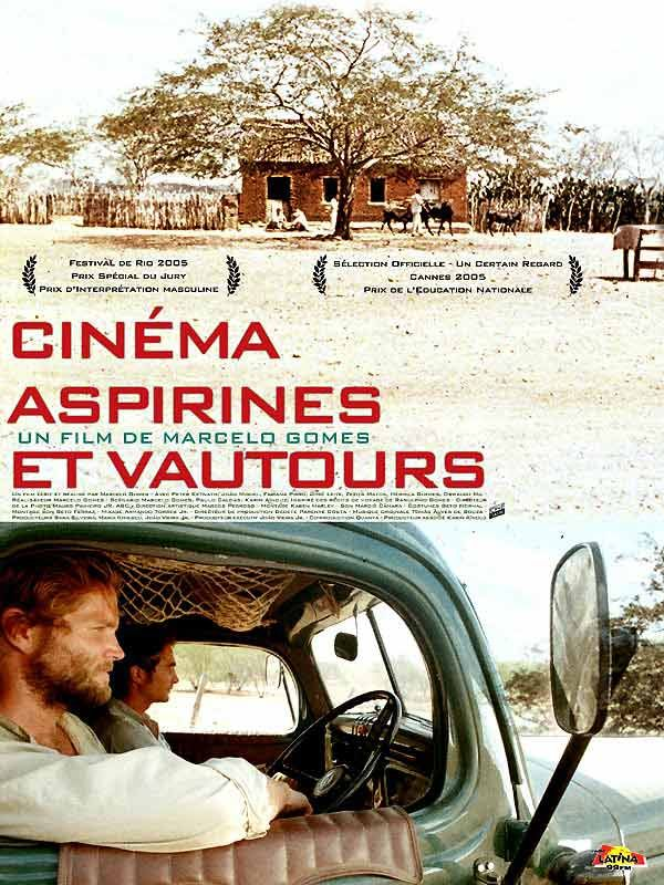 affiche du film Cinéma, aspirines et vautours