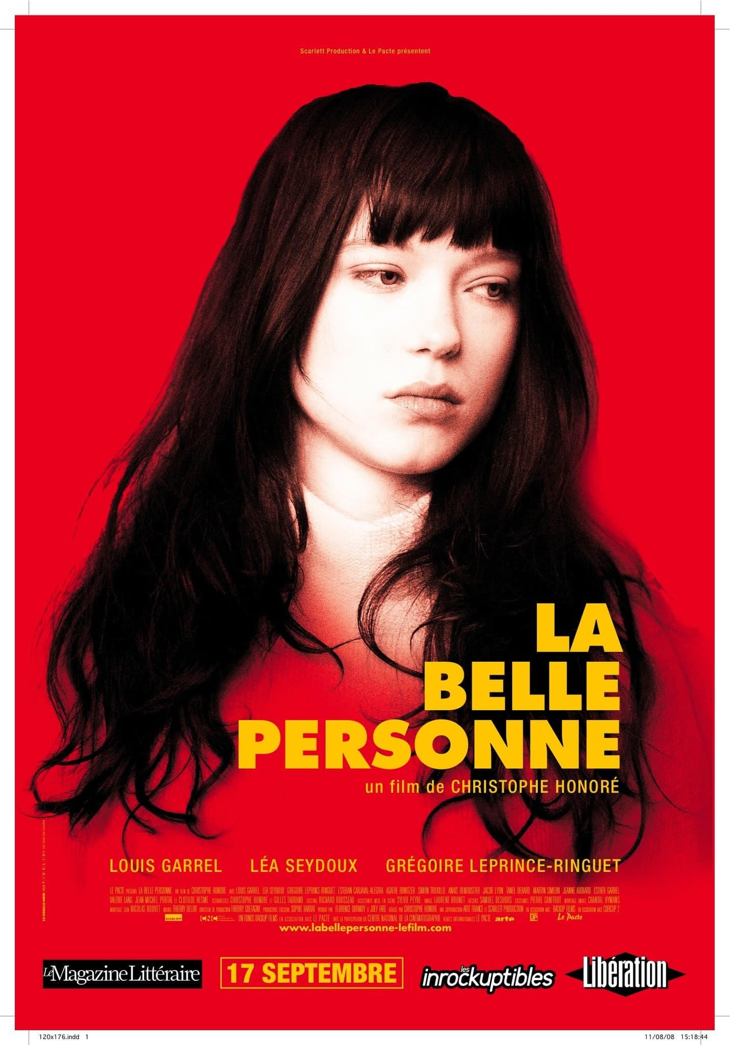 affiche du film La Belle Personne
