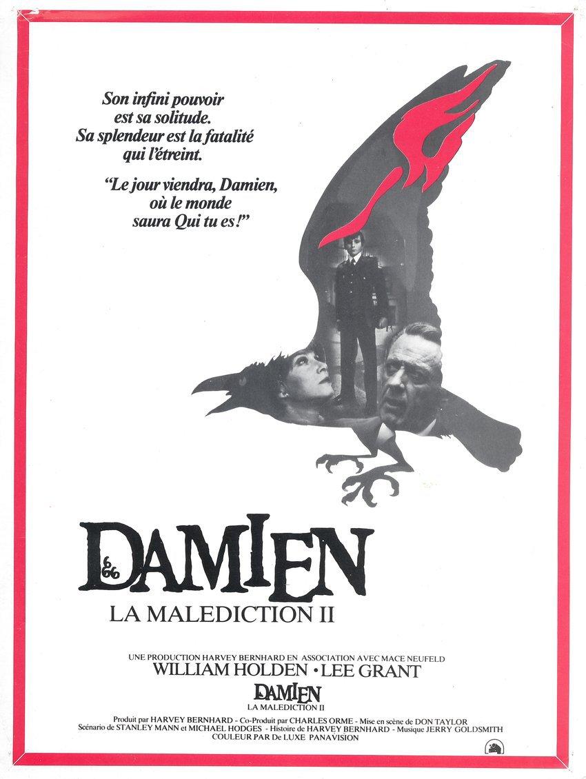affiche du film Damien, la malédiction II