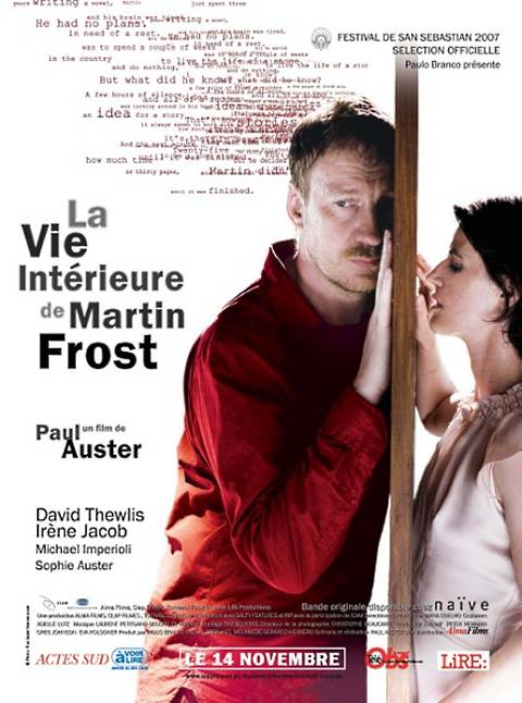 affiche du film La vie intérieure de Martin Frost