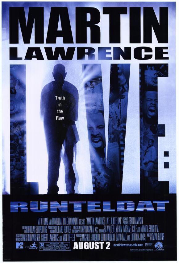 affiche du film Martin Lawrence Live: Runteldat