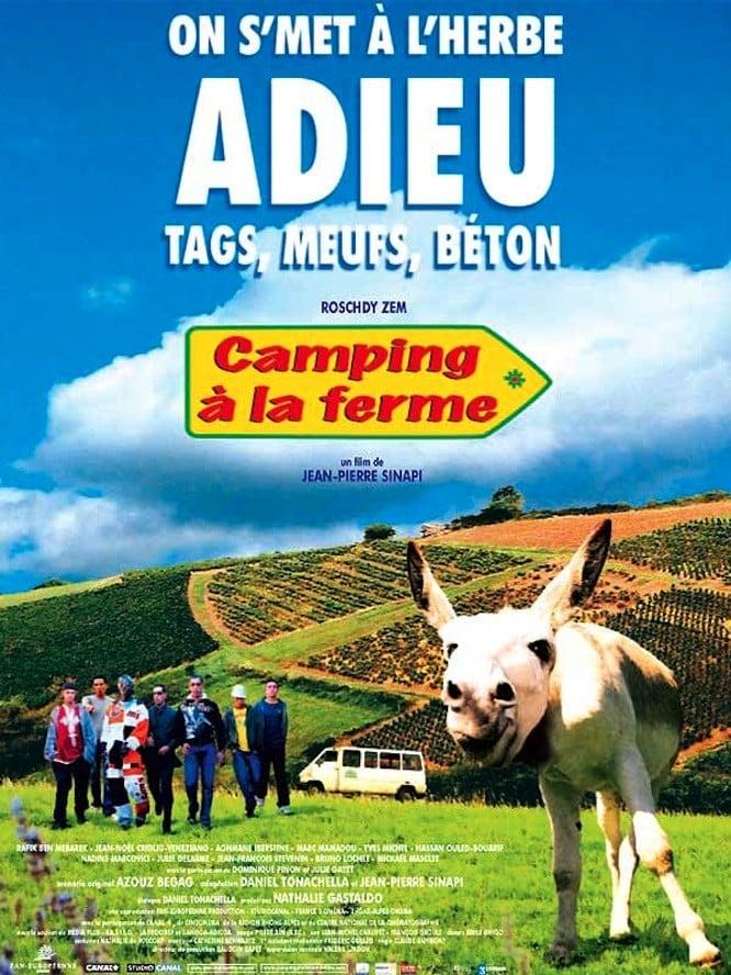 affiche du film Camping à la ferme