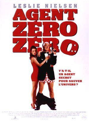 affiche du film Agent zéro zéro