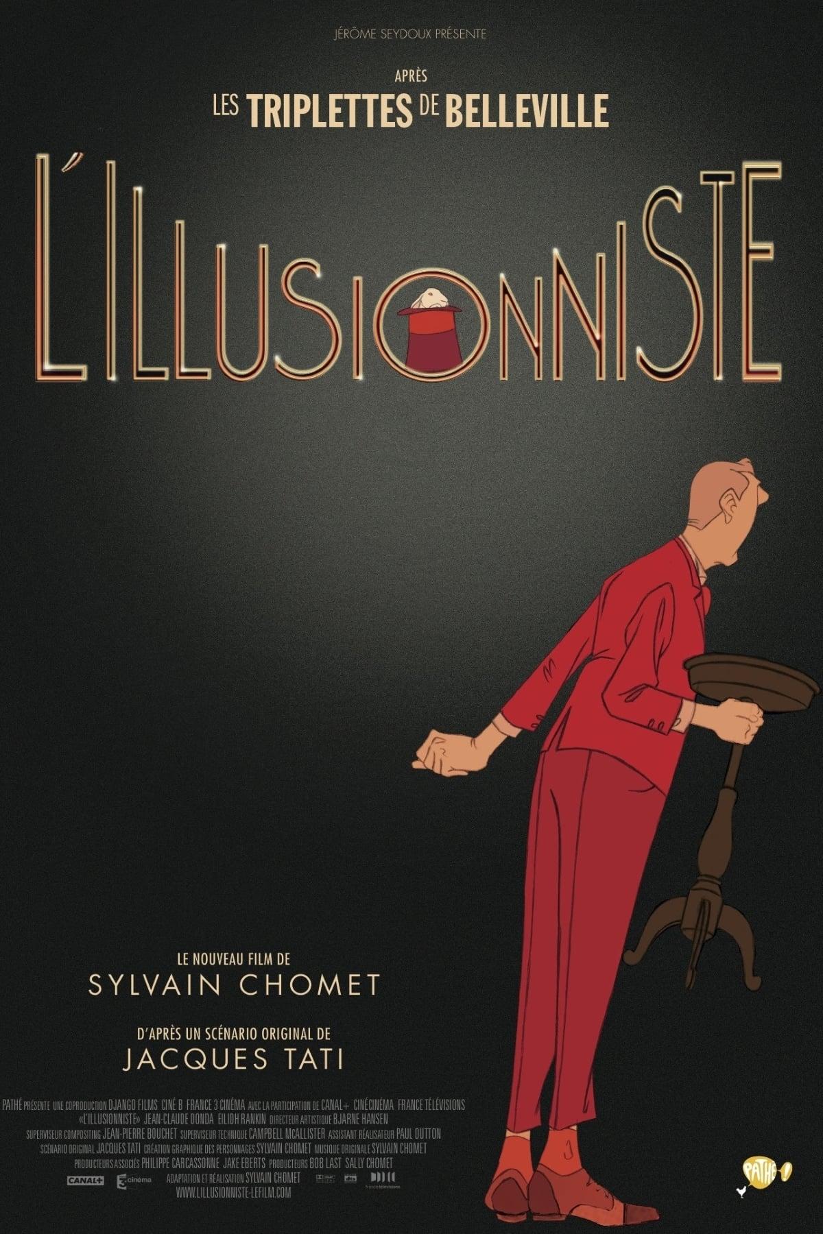 affiche du film L'illusionniste
