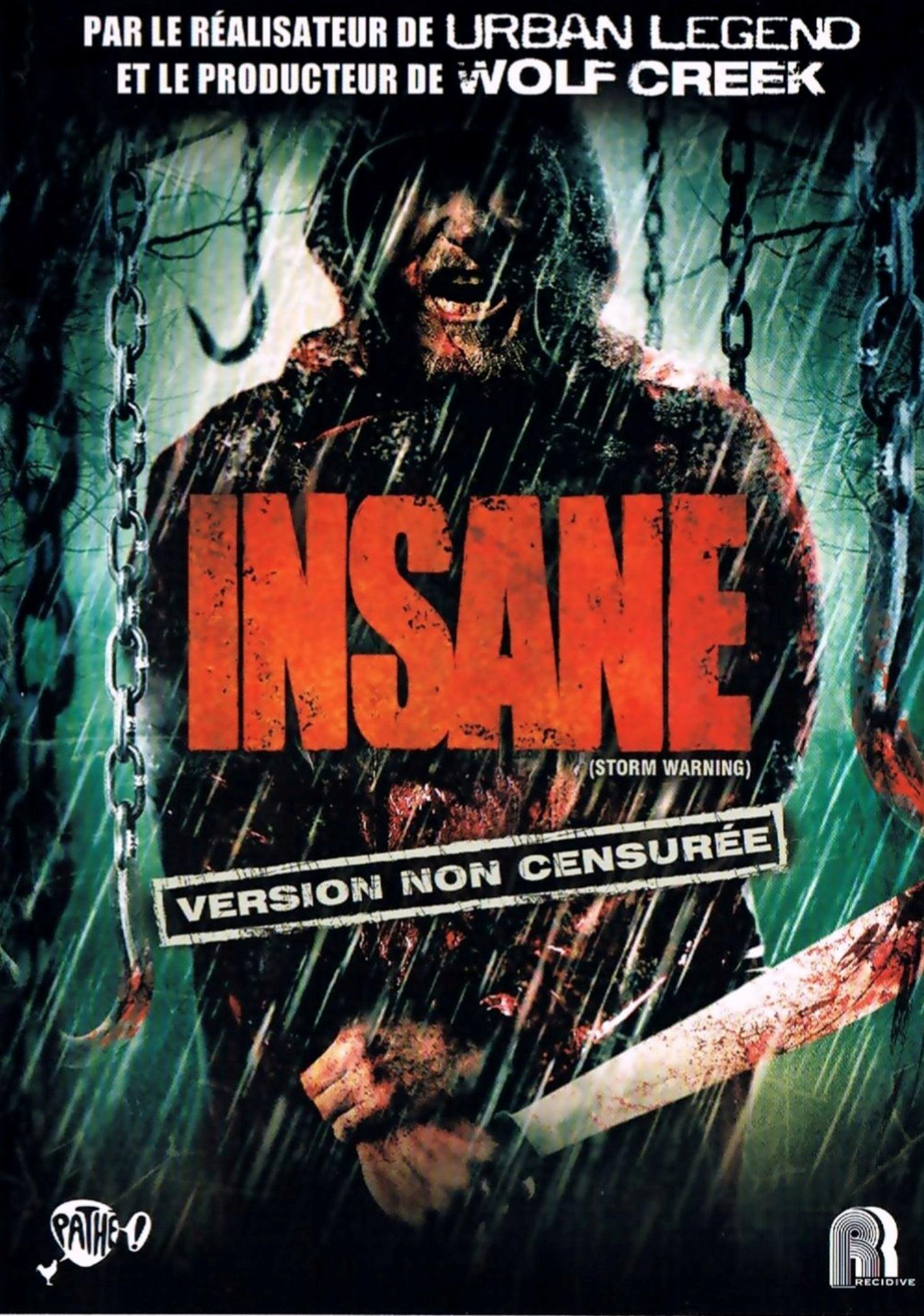 affiche du film Insane