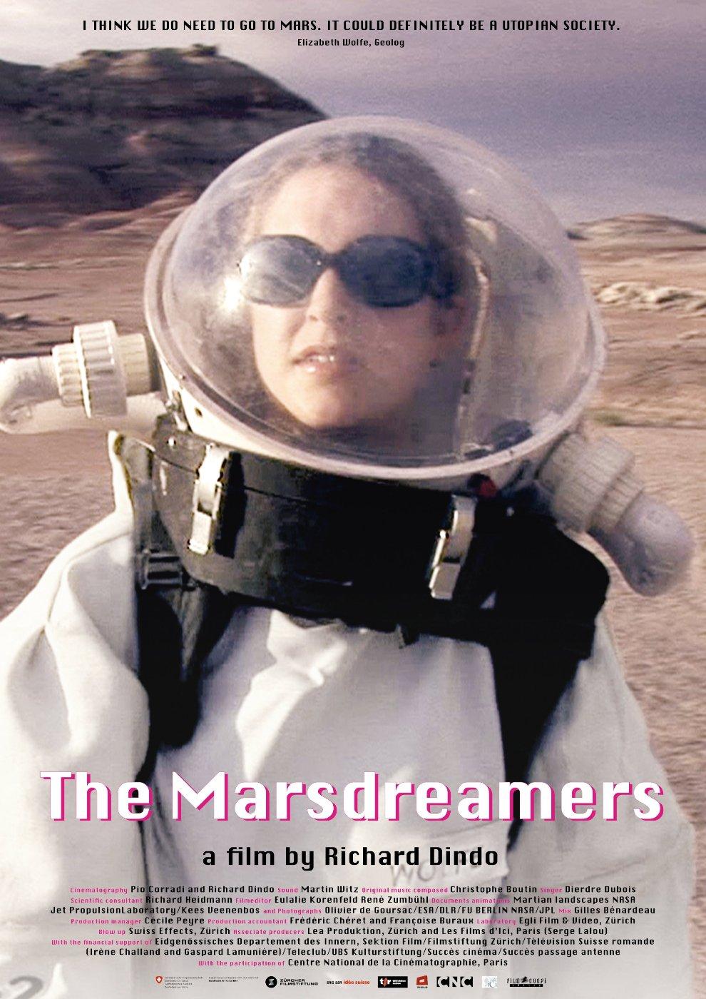 affiche du film Les rêveurs de Mars