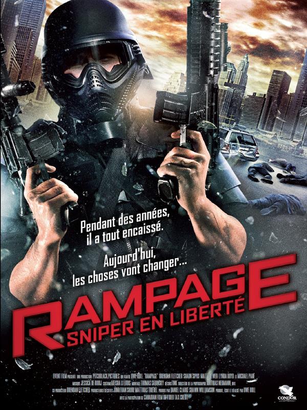 affiche du film Rampage: Sniper en liberté