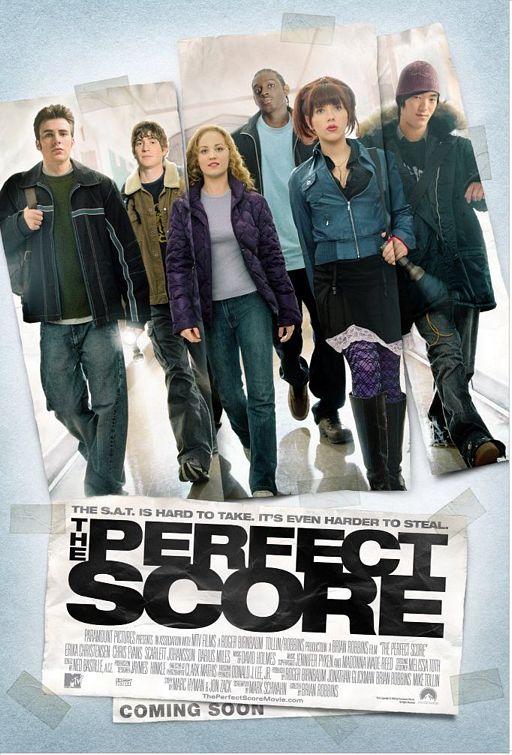 affiche du film The Perfect Score