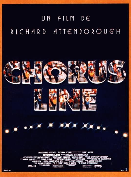 affiche du film Chorus Line
