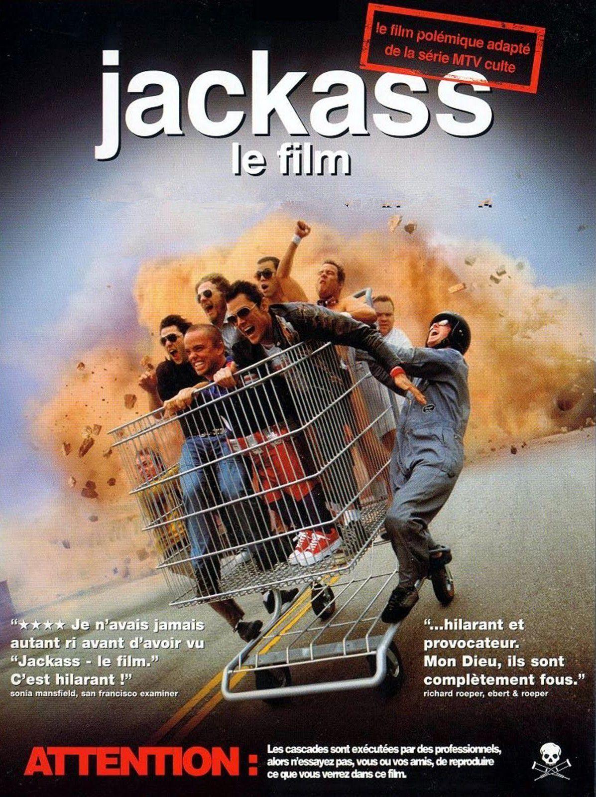affiche du film Jackass, le film