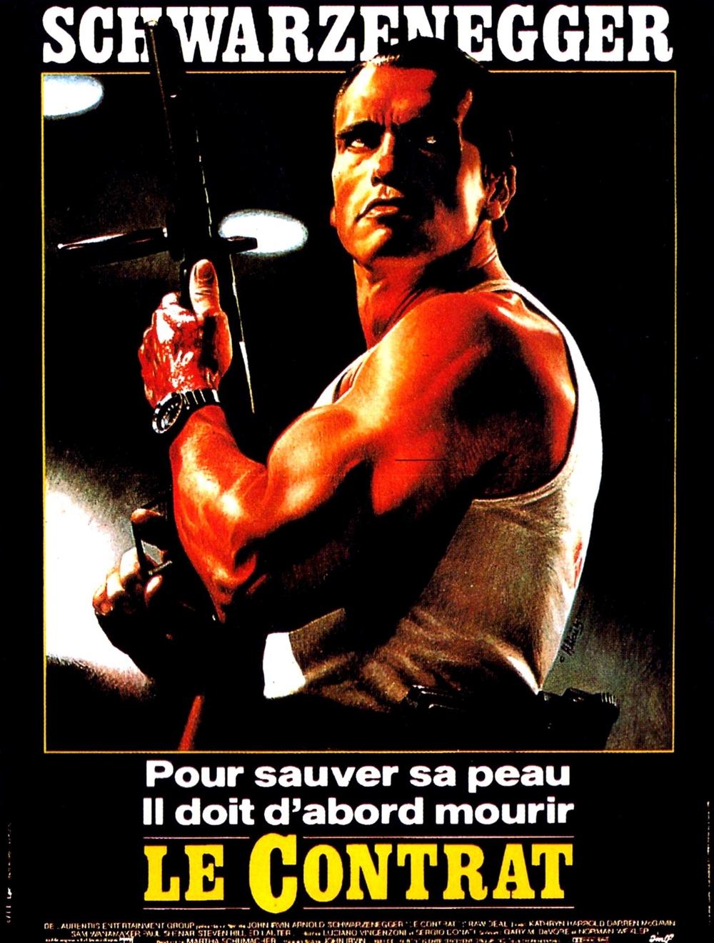affiche du film Le contrat (1986)