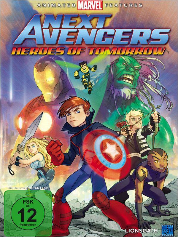 affiche du film Next Avengers