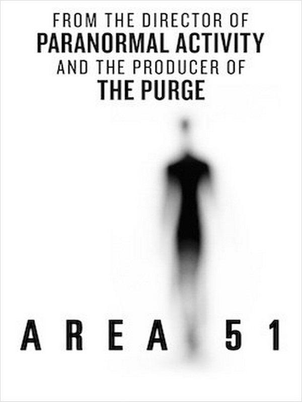 affiche du film Area 51
