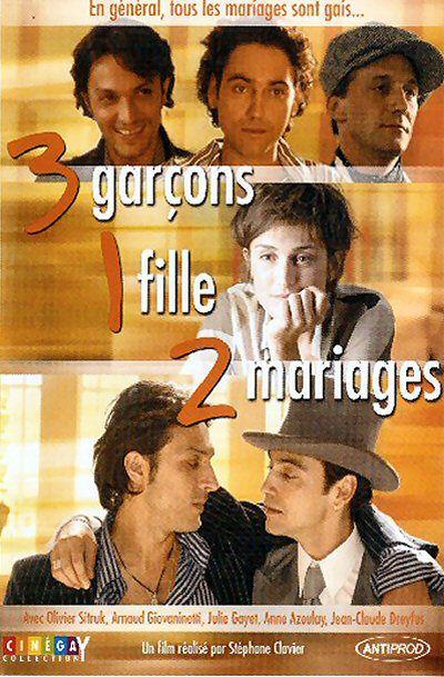 affiche du film 3 Garçons, 1 Fille, 2 Mariages (TV)