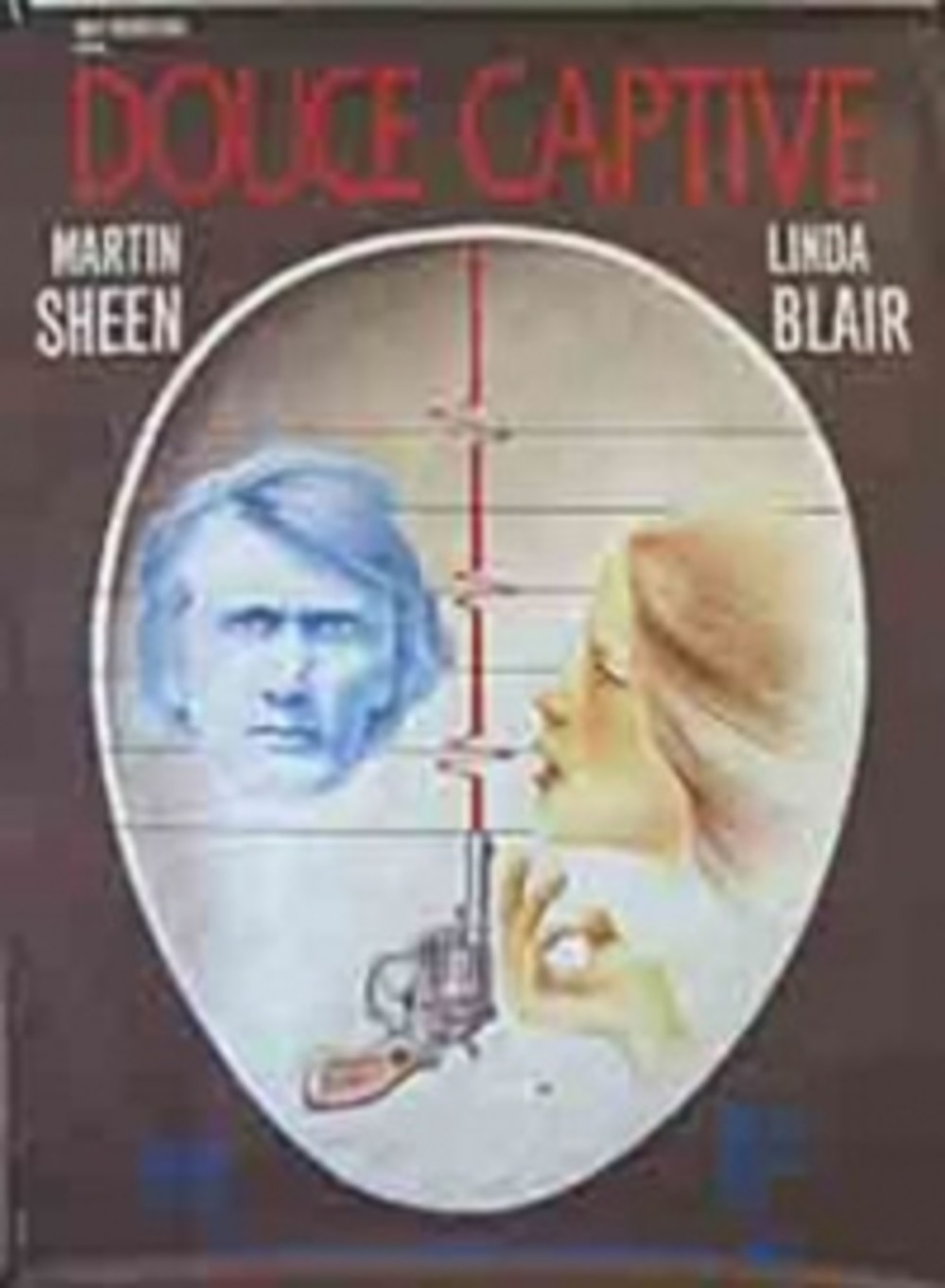 affiche du film Douce captive (TV)